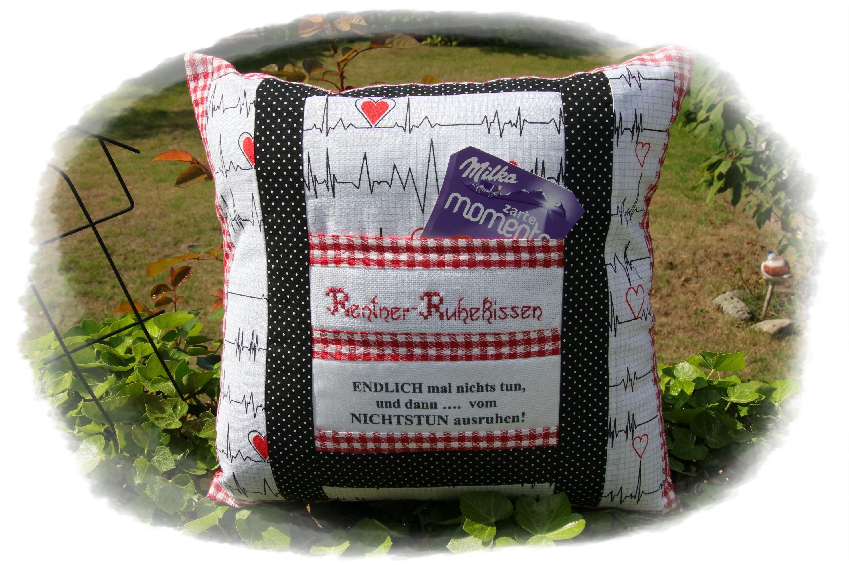 Pensioner pillow, doctor, nurse, nurse, midwife, gift