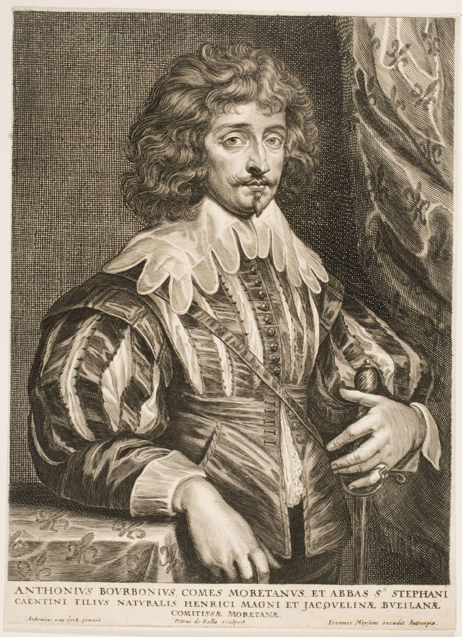 Philadelphia Museum of Art - Collections Object : Portrait of Antoine de Bourbon, Count of Moret (1607 - 1632)
