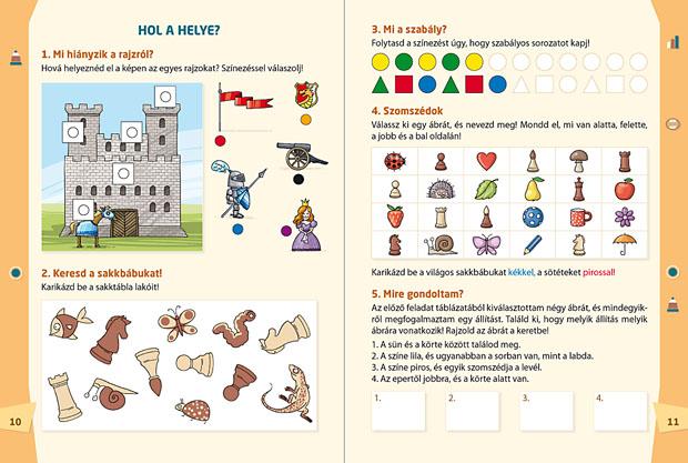 Mozaik Kiadó - Logika fejlesztő munkafüzet 1. kötet - SAKK-LOGIKA programcsomag