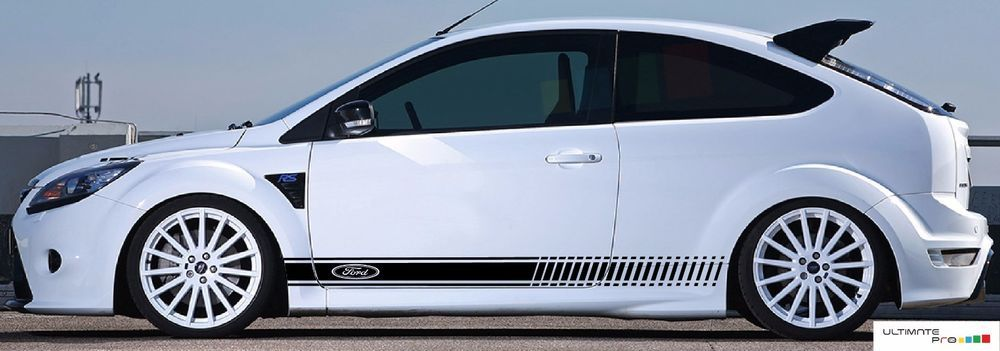 Decal Sticker Stripe Kit For Ford Focus Rs St Xenon