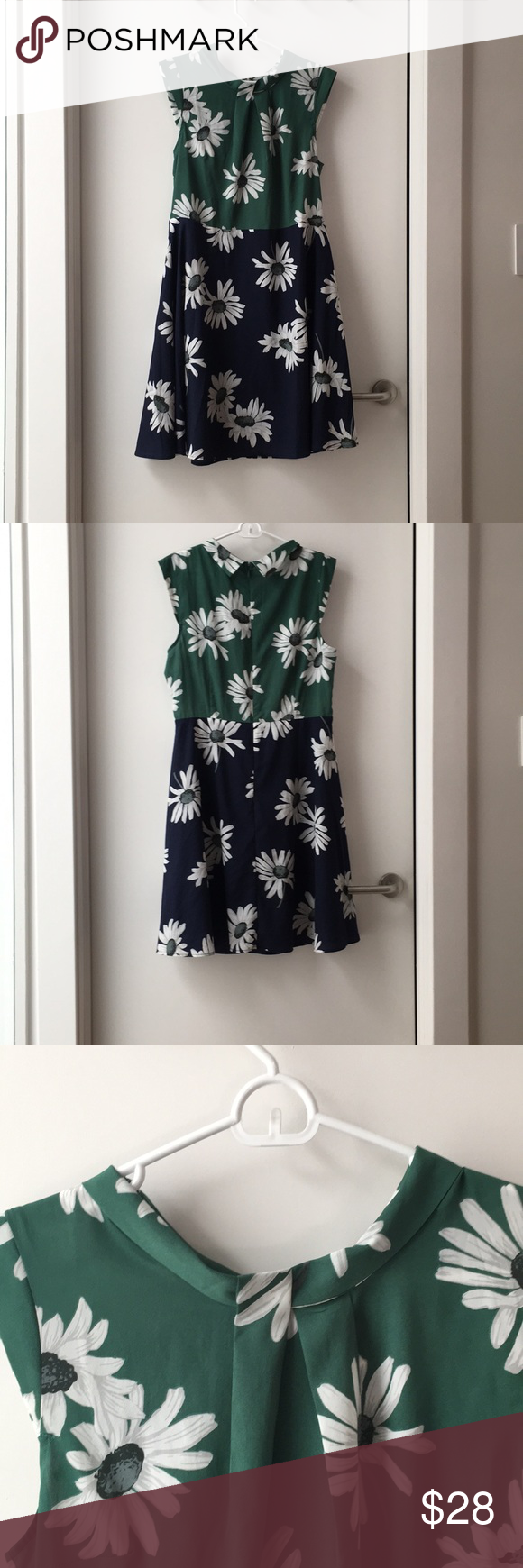 Size Xl Isani For Target Two Tone Floral Dress Floral Dress Clothes Design Dresses [ 1740 x 580 Pixel ]