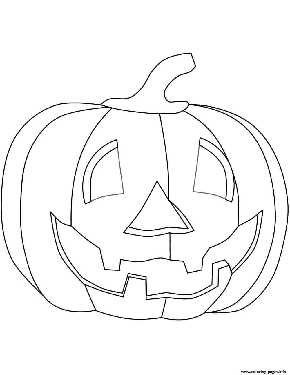 Print halloween pumpkin halloween coloring pages