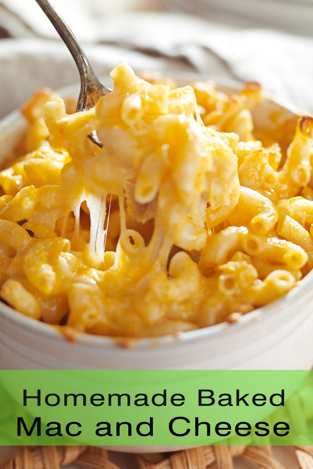Best Homemade Baked Mac And Cheese Recipe Healthy Comfort Food