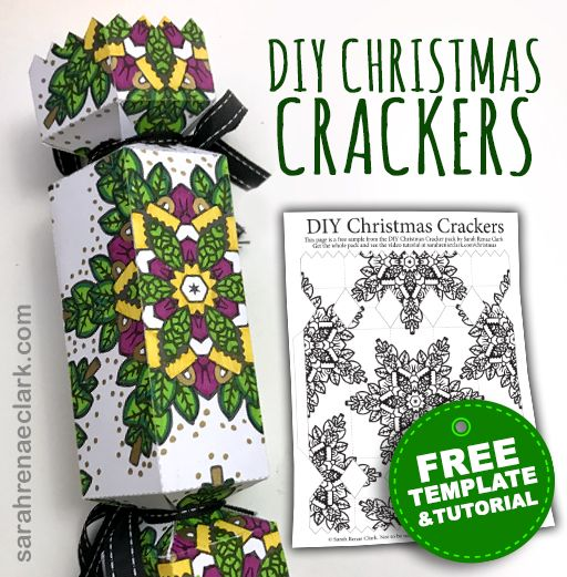 How to make a christmas cracker free template christmas crackers free diy christmas cracker template make your own christmas crackers solutioingenieria Image collections