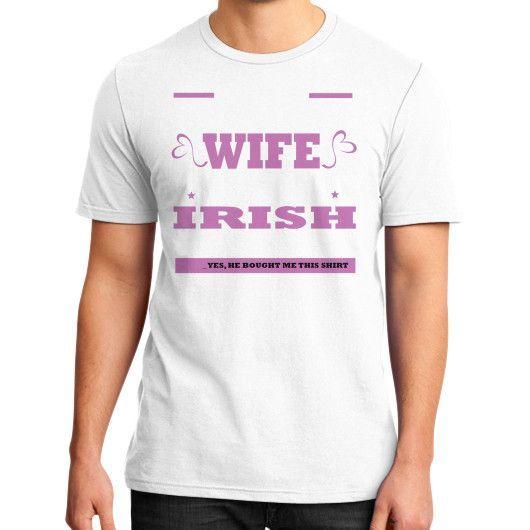 irish husband District T-Shirt (on man)