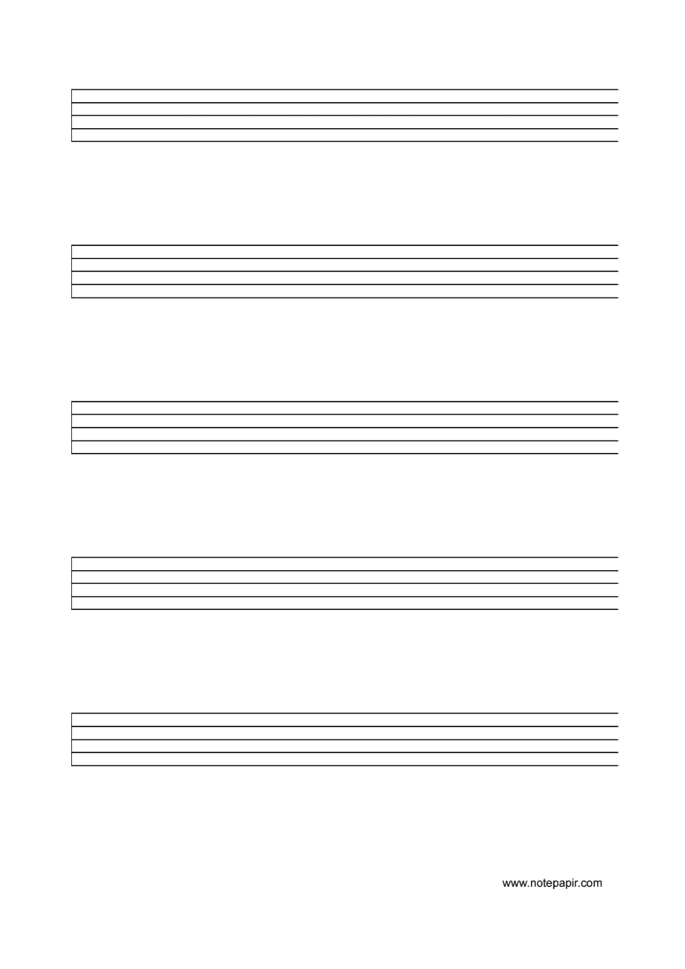 Free Printable Music Staff Paper Blank Sheet Music Sheet Music Free Printable Sheet Music