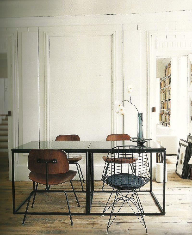 Frédéric Méchiche Paris  Small Room  Paris Apartment Dining Awesome Apartment Dining Room Design Inspiration