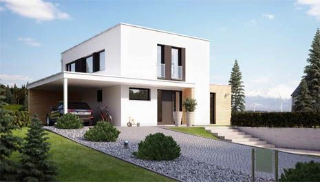 platz haus 21 talno mit carport carports pinterest. Black Bedroom Furniture Sets. Home Design Ideas