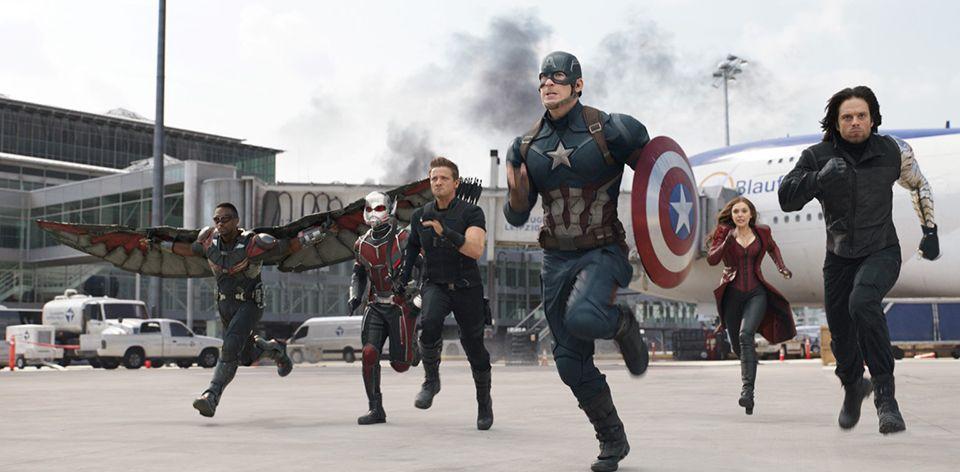 Captain America Civil War Film Complet Films Complets Captain America Mtv Movie Awards