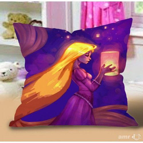 Tangled Rapunzel Disney princess Pillow Case