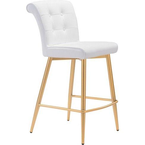 Fine Zm Home Modern Glam Counter Chair To Build A Home In 2019 Machost Co Dining Chair Design Ideas Machostcouk
