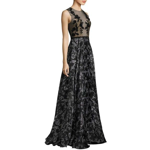 Sachin & Babi Susie Silk Gown ($1,395) ❤ liked on Polyvore ...