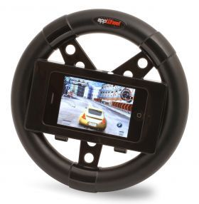 Just when I thought I had seen it all.. a car wheel for the iphone.. that is awesome.    Iphone Appwheel  from LatestBuy    #iphone