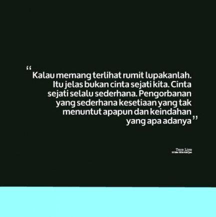 Quotes indonesia rindu tere liye 37+ New Ideas #quotes Kata Kata Tere Liye journalaudrinaquotes.zazzli.ru