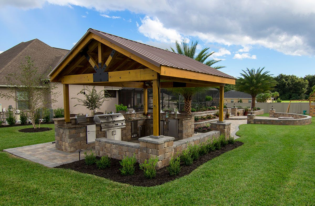 pin by art of natural stone on art of natural stone build outdoor kitchen backyard pavilion on outdoor kitchen natural id=34998