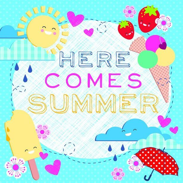 452aef7a610b8 Here Comes Summer - Holly Sims #summer #typography | Truth | Summer ...