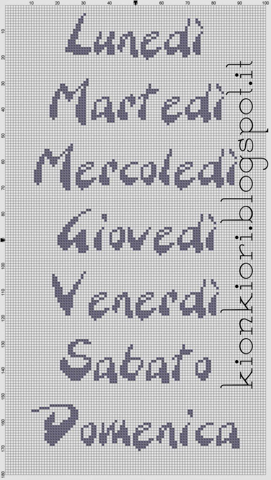Hobby lavori femminili - ricamo - uncinetto - maglia Punto Croce Bambino 163b07e2b185