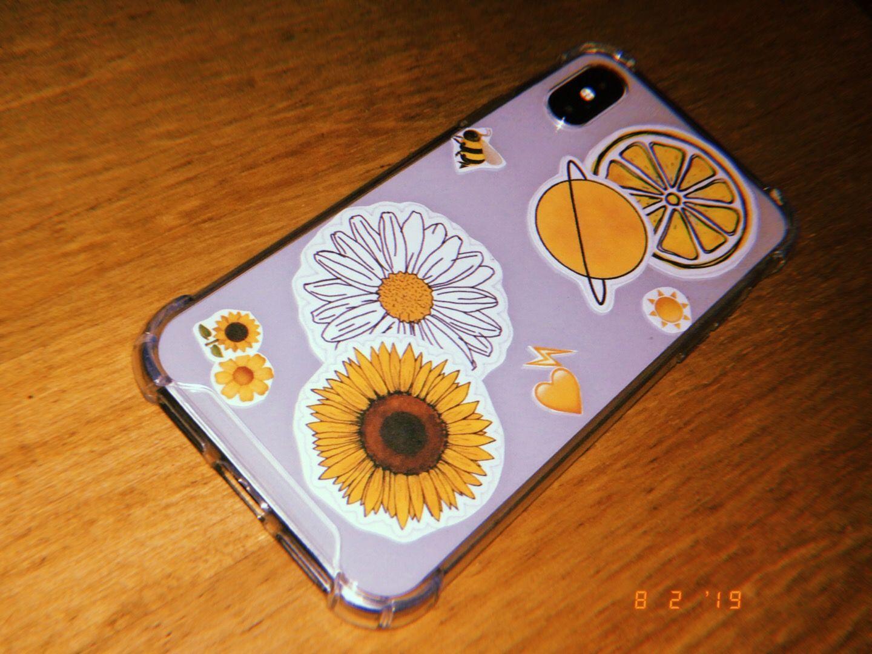 Yellow Theme iPhone X Handmade Case 🌻🌼 Phone case