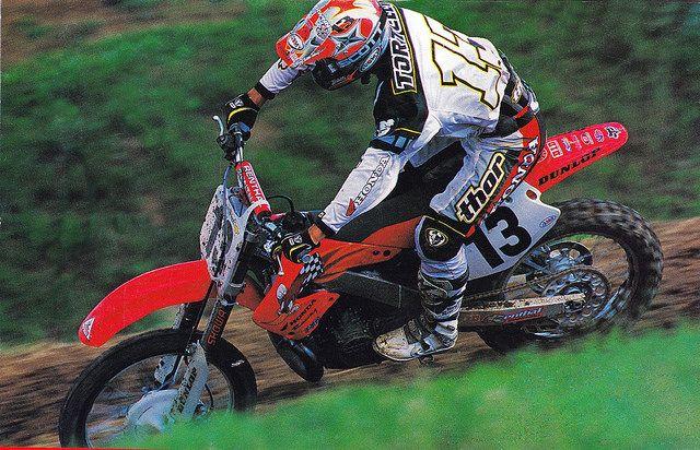 2001 Sebastien Tortelli | Motocross bikes, Motocross racer, Honda ...