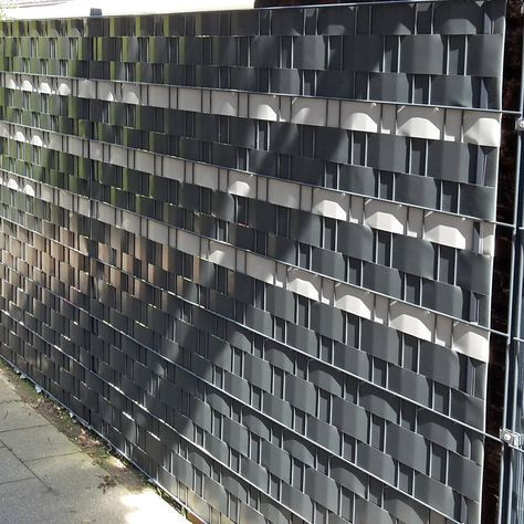 Mtec Profiline® PVC Streifen anthrazit Garten