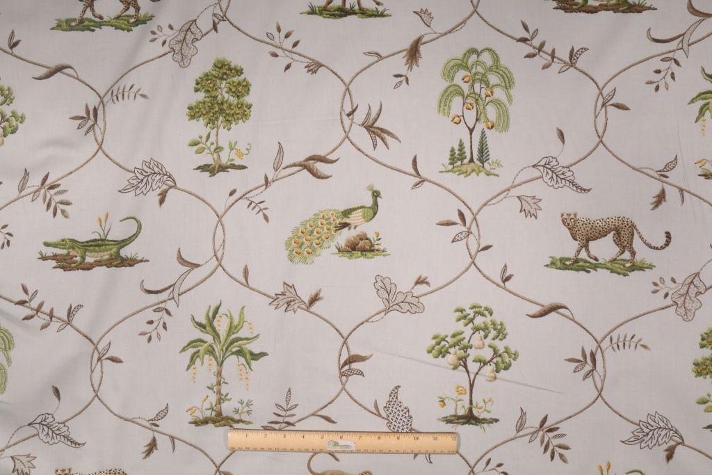 Animal Prints :: Kaufmann Villandry Printed Cotton Drapery Fabric