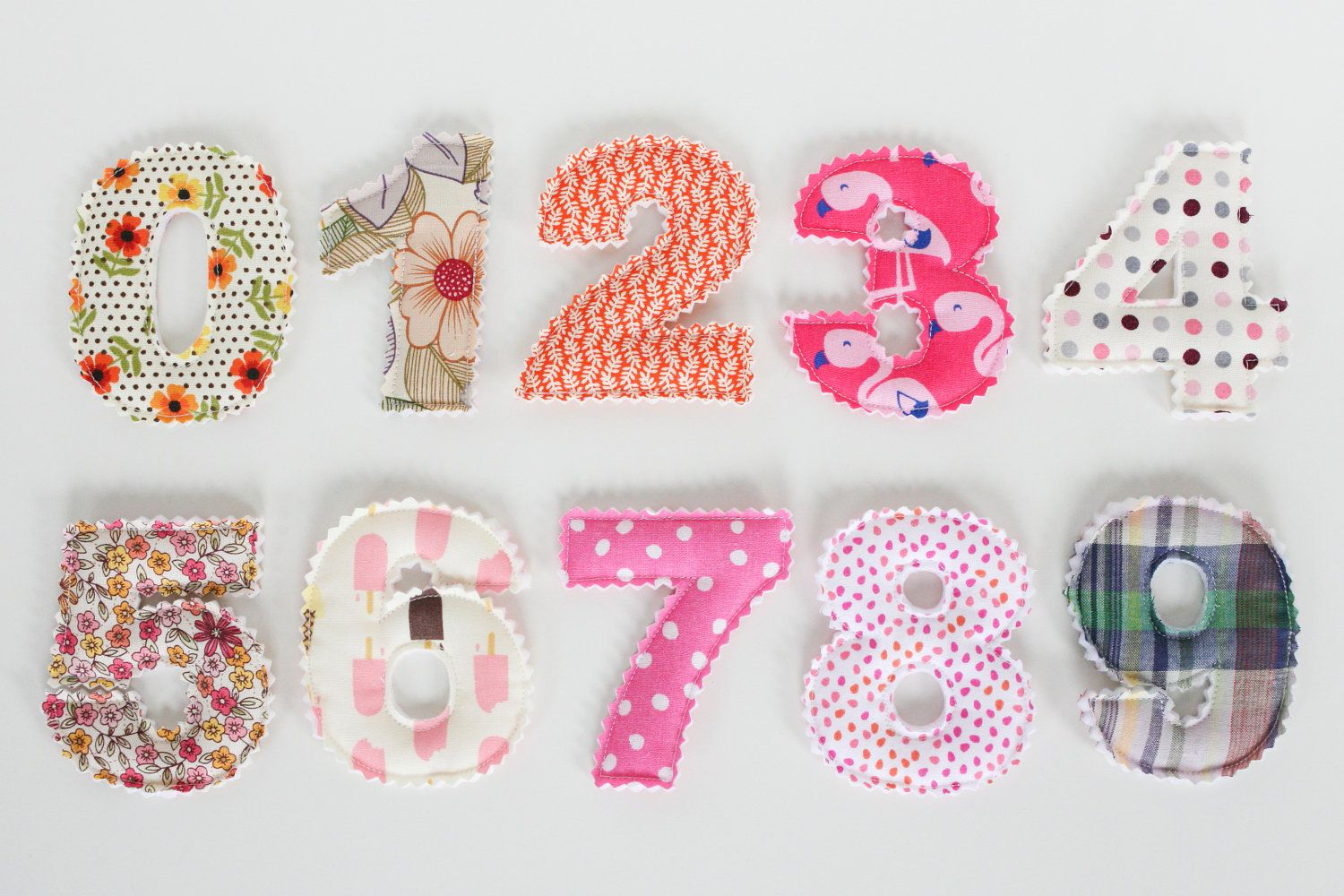 Plush Toy Numbers 09 by JaneeLookerse on Etsy