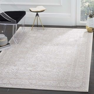 Safavieh Reflection Beige Cream Polyester Area Rug 6 X