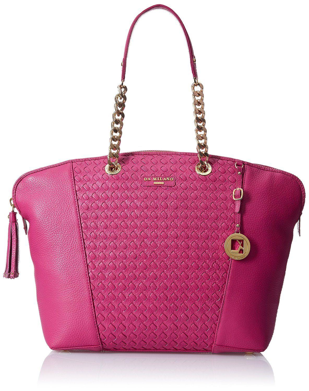 Da Milano Women's Handbag (Fuschia ) (LB-3799FUSCHIA MAT): Amazon.in: Shoes & Handbags
