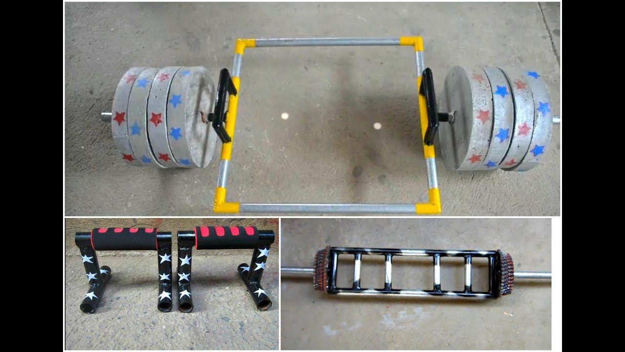 Best Homemade Gym Equipment Gym Ideas Youtube Homemade Gym Equipment Diy Gym Equipment Diy Gym