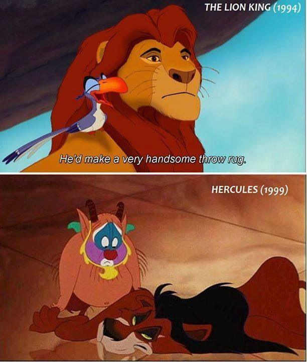 Hahahahaha Scar Got Turned Into A Rug Disney Funny Disney Memes Disney Songs