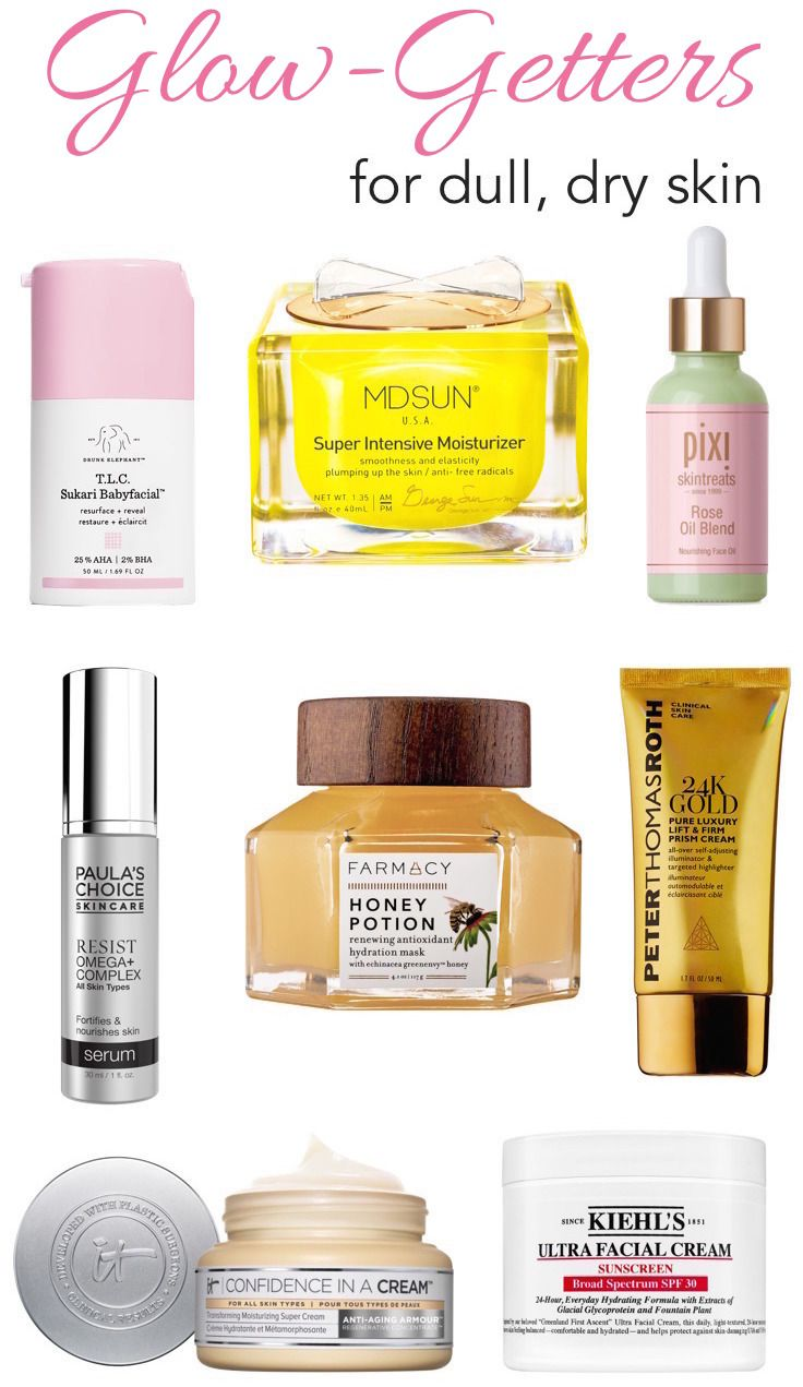 Dull, Dry Skin? Get Your Natural Glow Back With These Skincare