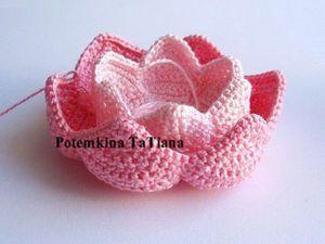 crochelinhasagulhas: Flor de lótus em crochê