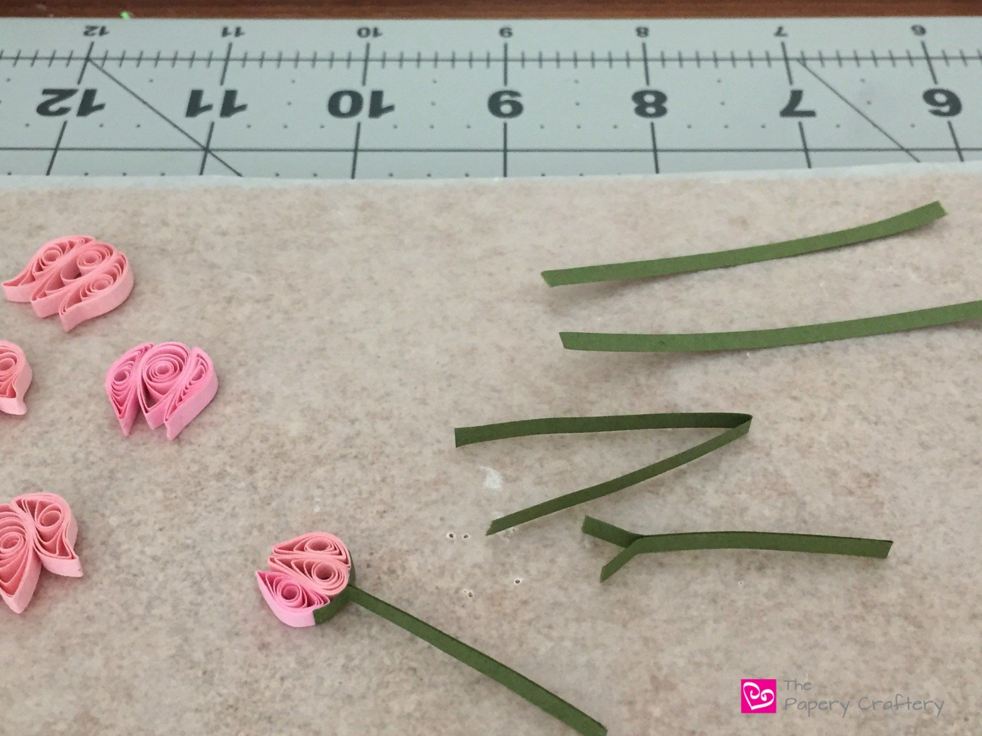 How To Make Simple Quilling Paper Flowers Lily Of The