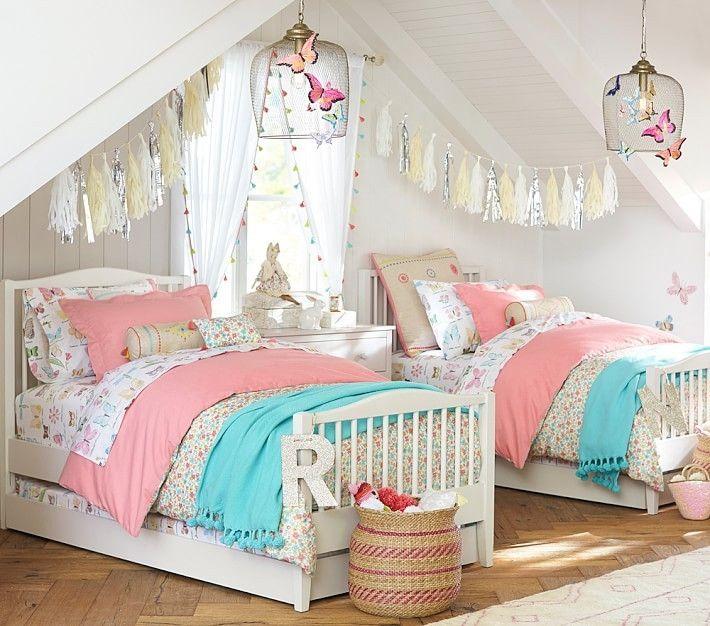 Resultado de imagen para decoracion de habitaciones for Decoracion de cuarto para ninas gemelas