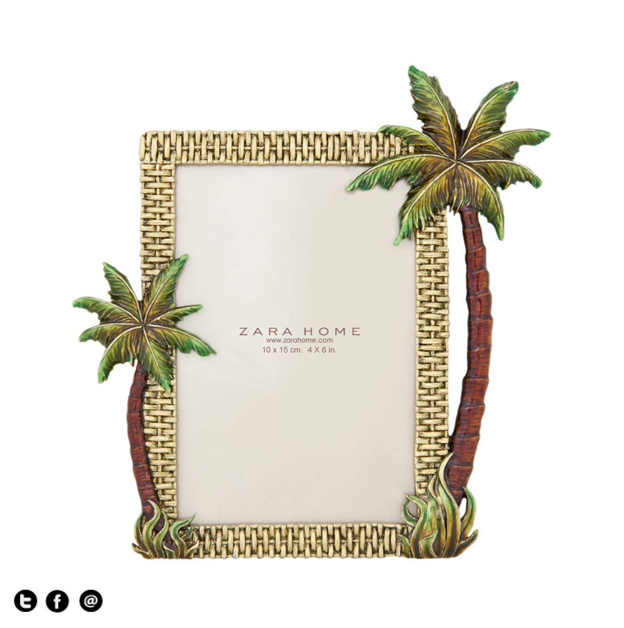 Marco palmeras zara home pinterest palm tree picture frame zara home jeuxipadfo Choice Image