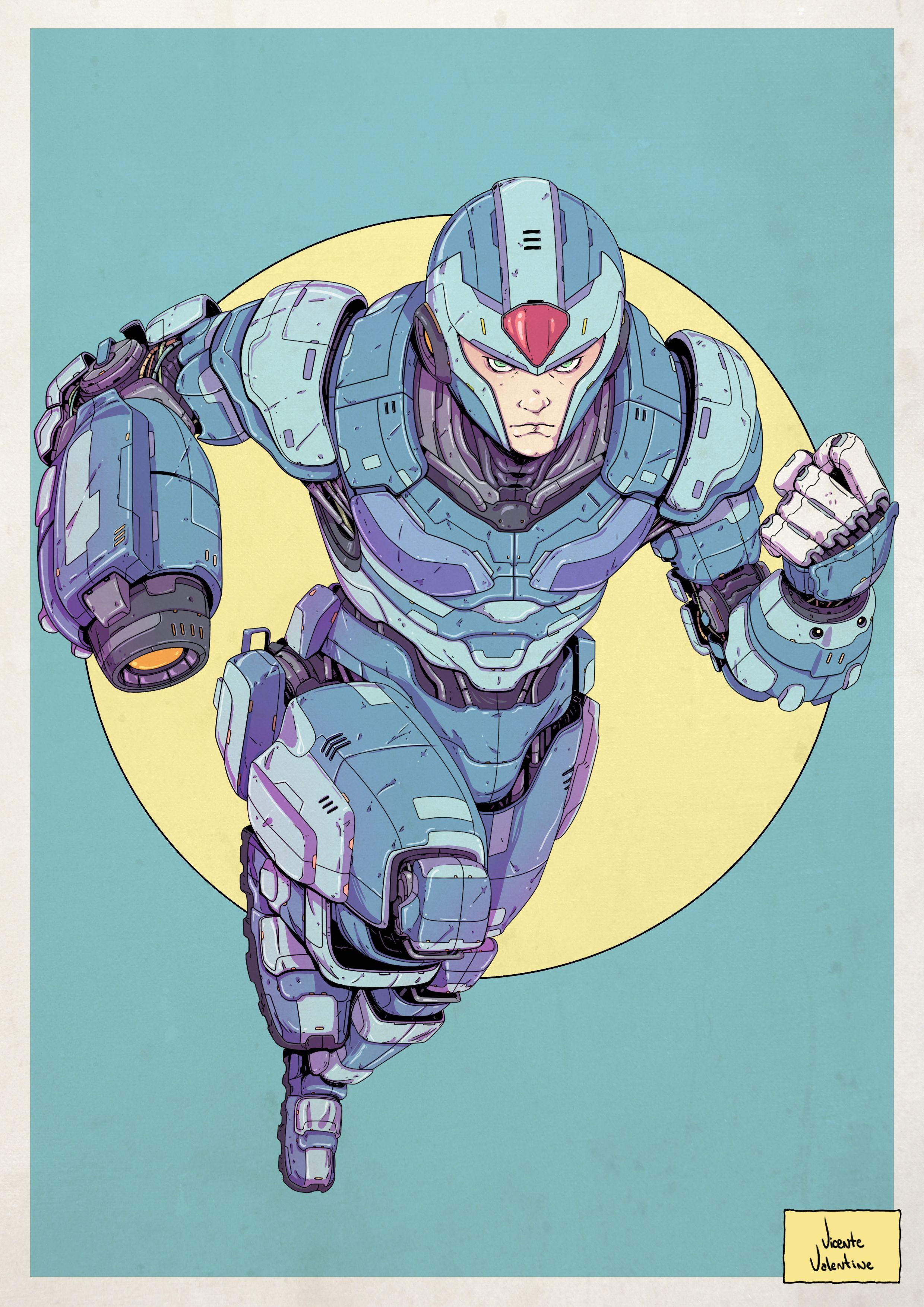 Mega Man X Redesign MegaManX RockManX MegaMan SNES