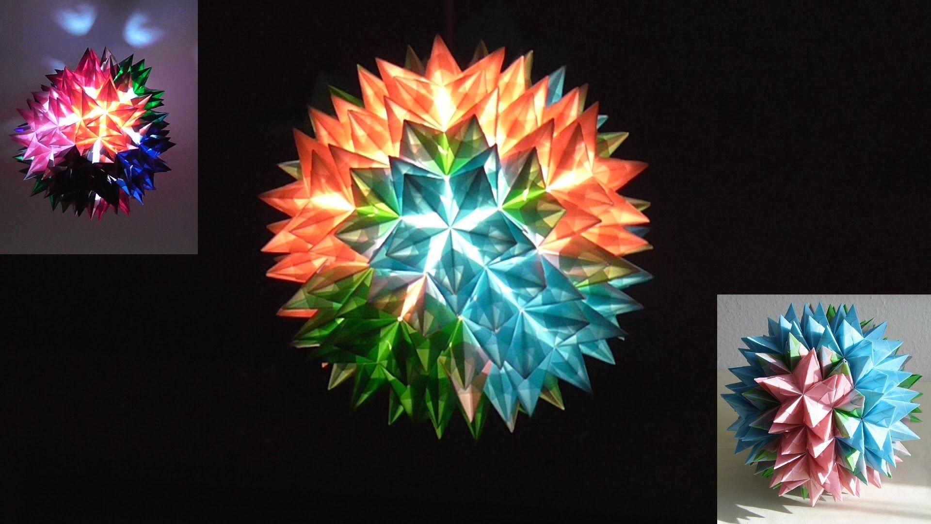 Bauanleitung Für Einen Goliath-Stern (Origami 3d Star