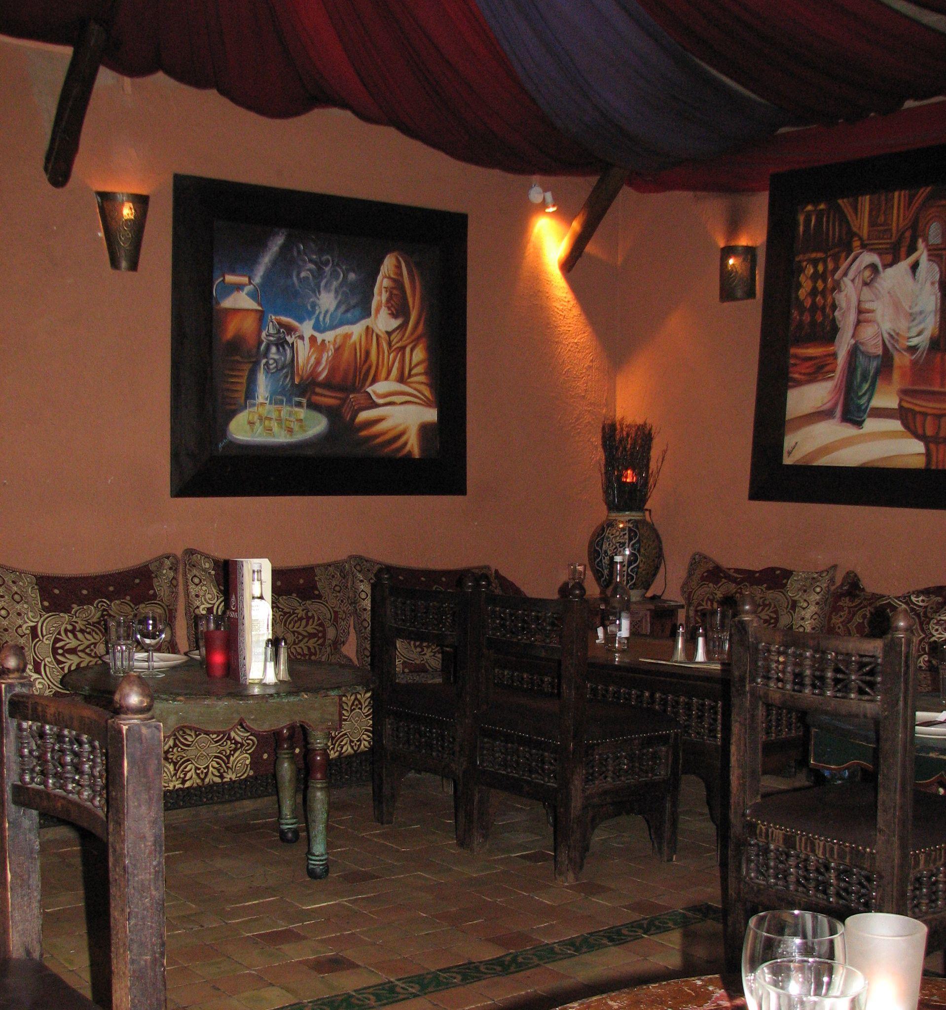 Moroccan restaurant - Souk Medina at Neal\'s yard, Covent Garden ...