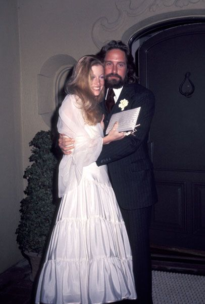 Michael Douglas and Diandra Douglas - March 20, 1977 ...
