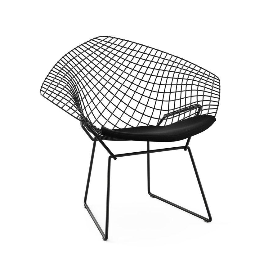 bertoia diamond chair knoll home pinterest diamond harry
