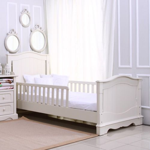Palmier large crib converted to twin bed Cotonnier furniture