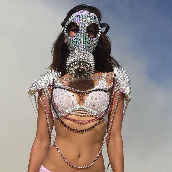 Burning man mask | Burning man Masking and Etsy