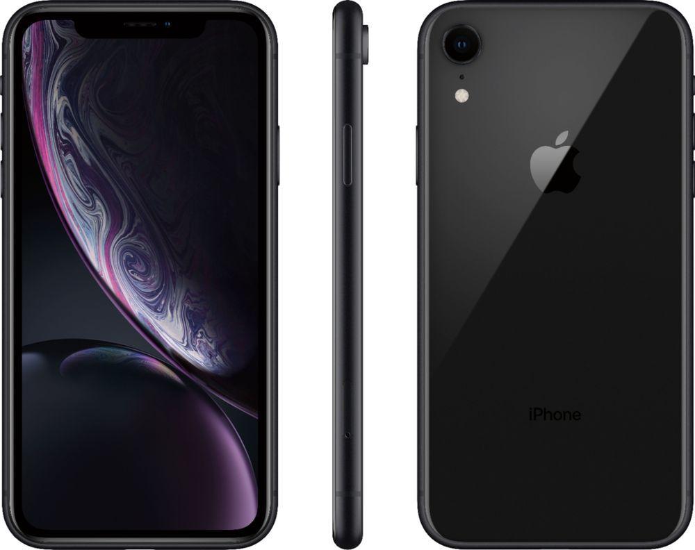 Total Wireless Apple Iphone Xr Black Twapixrc64bkpbb Apple
