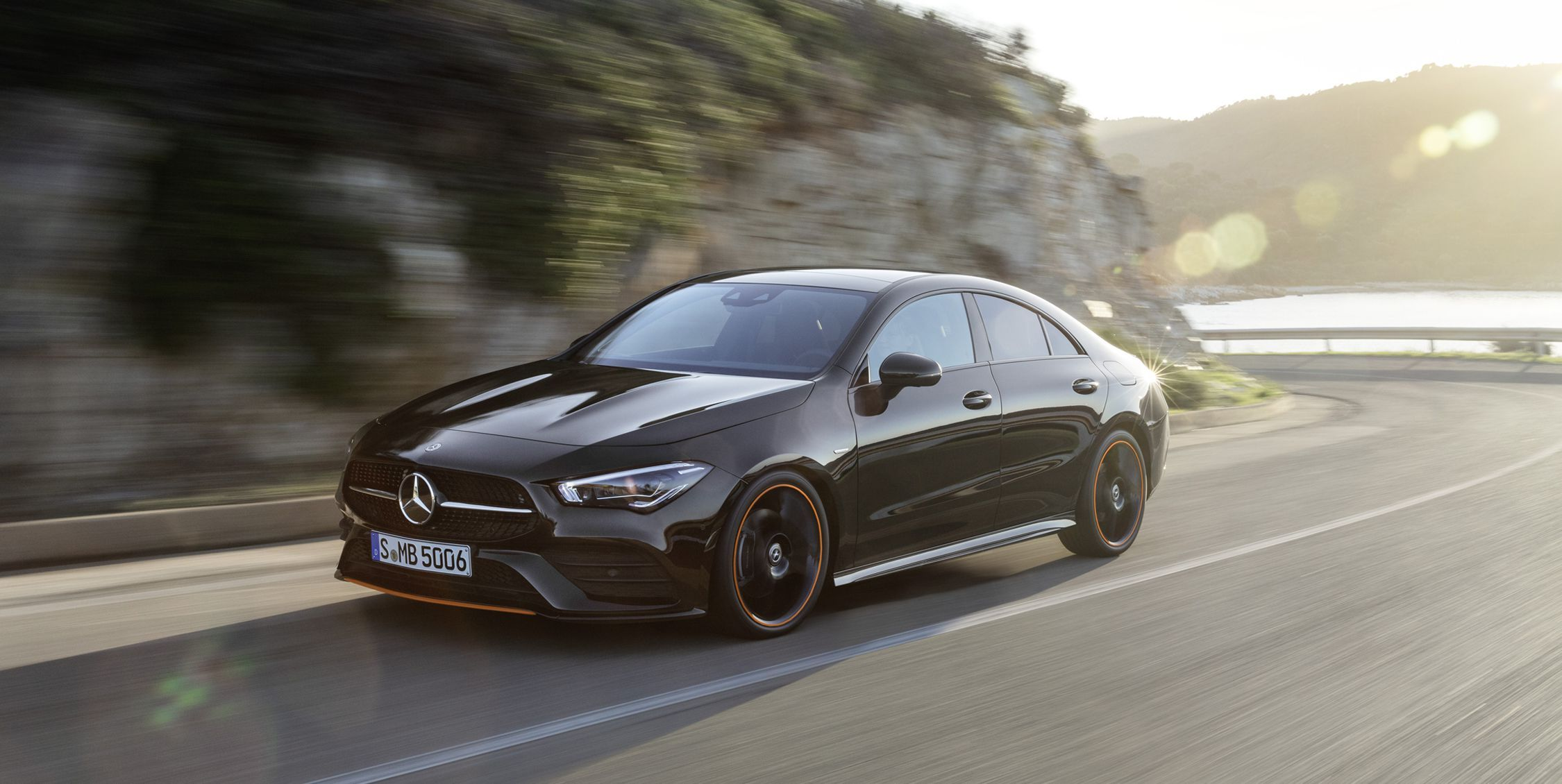 2020 Mercedes Benz Cla New Compact Four Door Coupe Car And