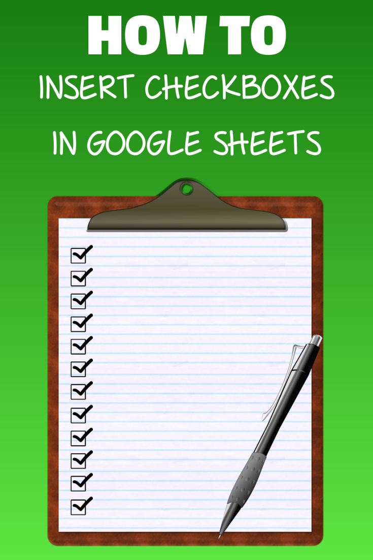 How to Insert Checkbox in Google Sheets (Tech Tips Technology)