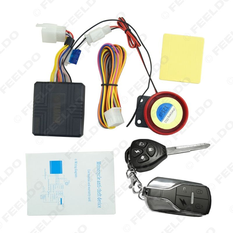 12v 100m Universal Motorcycle Alarm Scooter Alarm Sirens Fd 2355 Motorcycle Motorcycle Accessories Theft