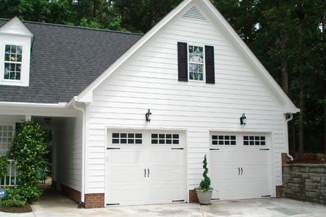 Attached Garage Roof Line And Breezeway Carriage House Plans Carriage House Apartments Garage Exterior