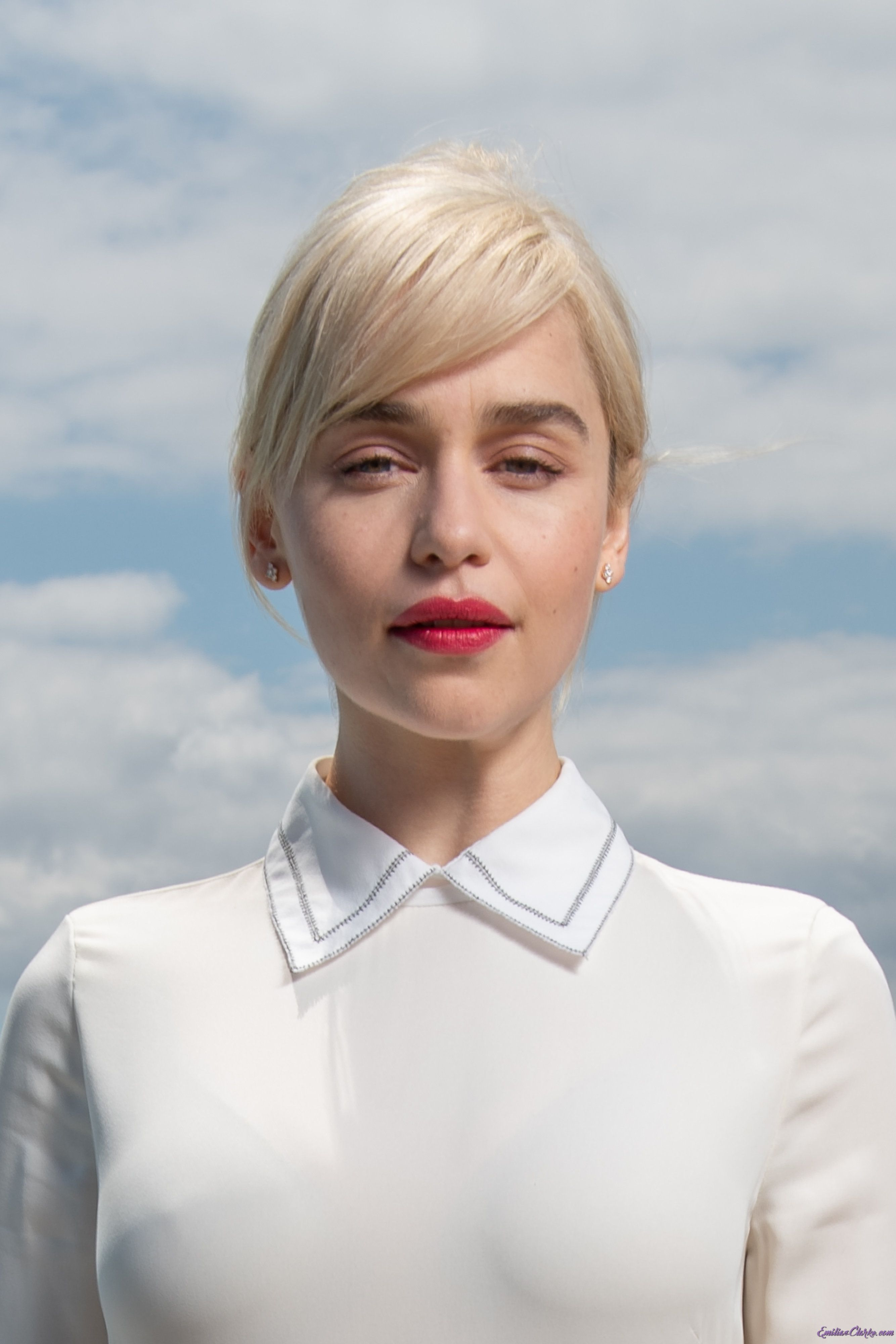 pictures Exclusive: Emilia Clarke on finding self-confidence (and the perfect red lipstick)