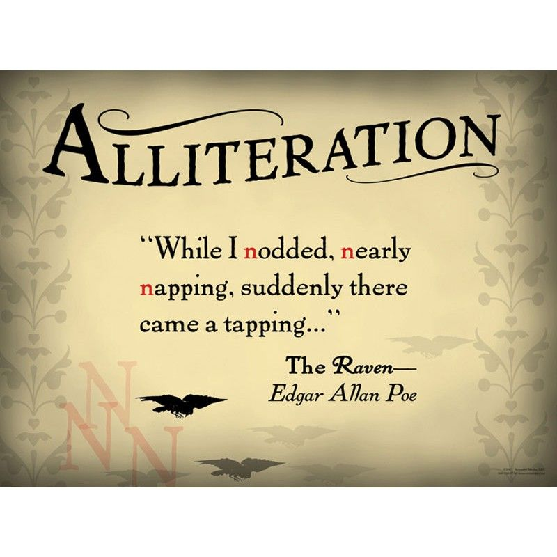 Alliteration Is The Repetition Of The Same Consonant Sounds At The