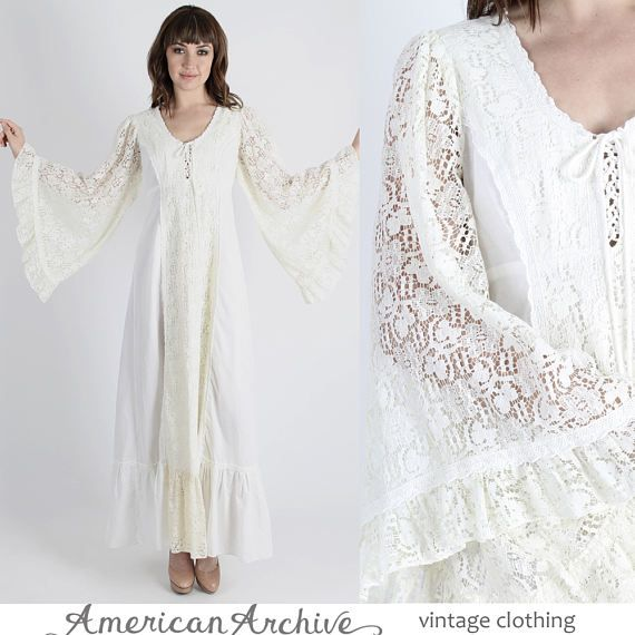 Gunne sax dress boho dress wedding dress renaissance dress for Slimming undergarments for wedding dress
